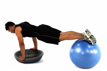 ponteo balancny trening