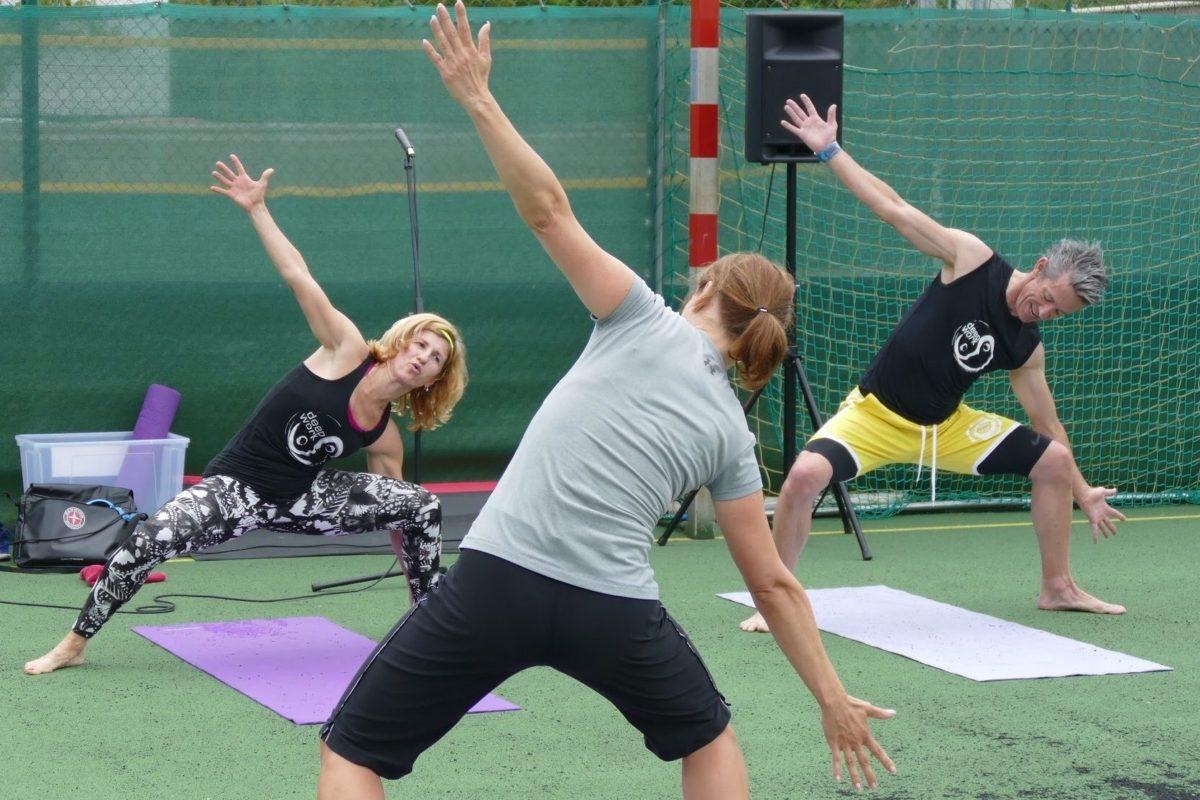 Mdd v Ponteo - balančné cvičenie
