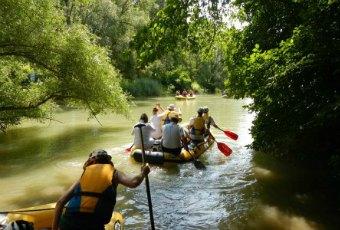 vodácky víkend v Ponteo