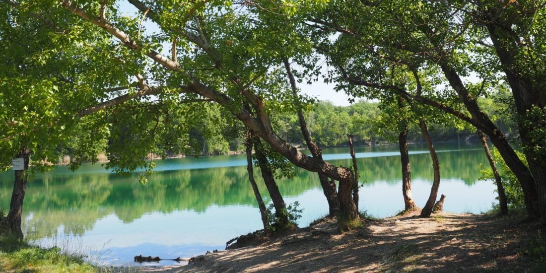 Čunovské jazero a okolie