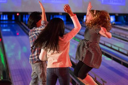 Ponteo bowling deti