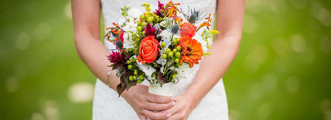 Svadba Ponteo - svadobná kytica