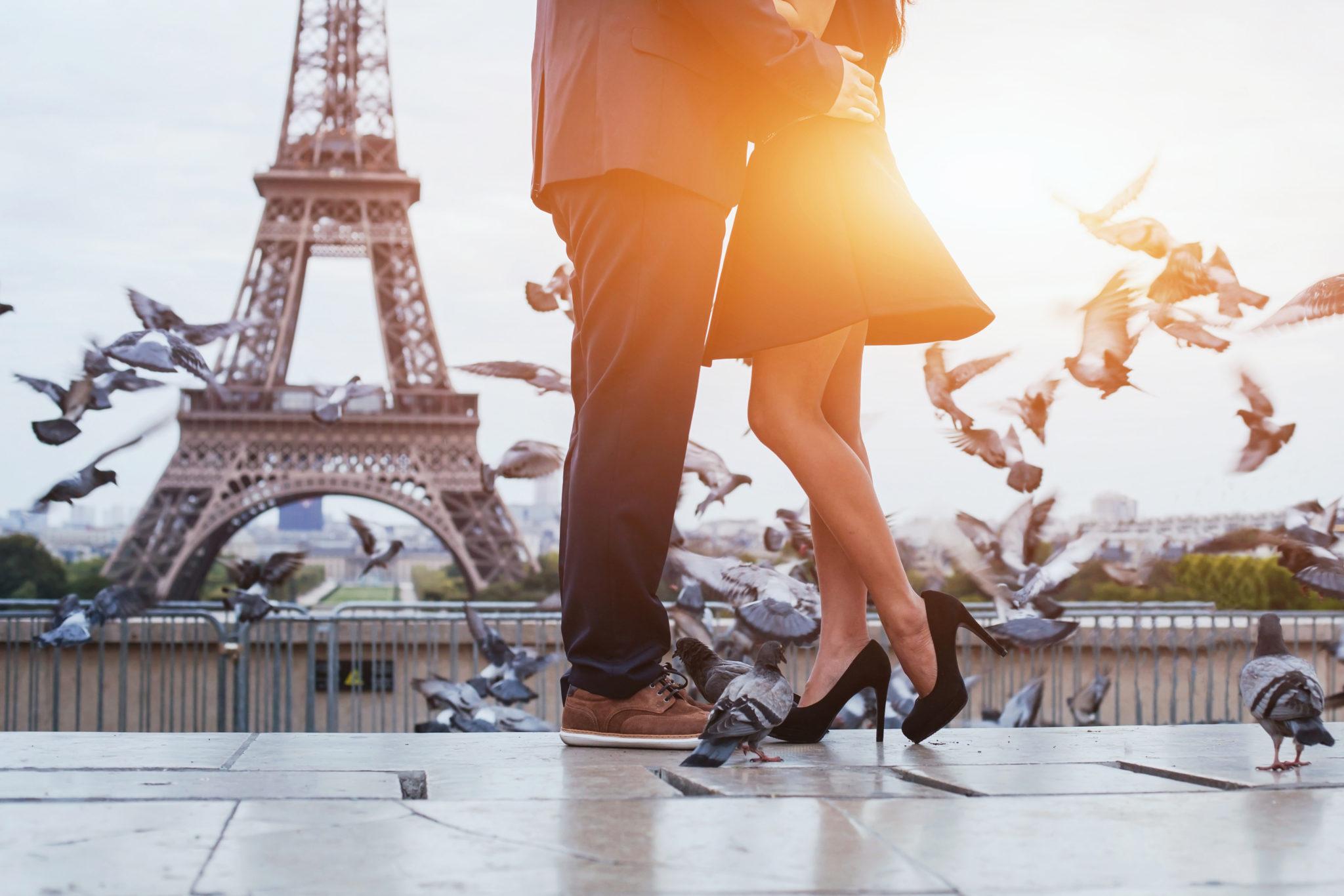 svadobná cesta - Paríž