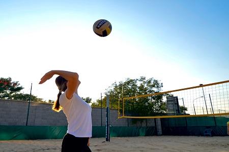 Ponteo beach volejbal