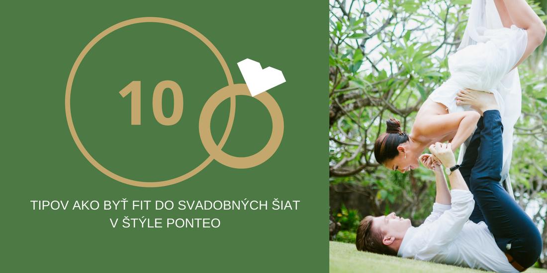 10 tipov ako byť fit do svadobných šiat