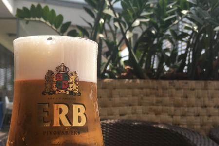čapované nealkoholické pivo ERB