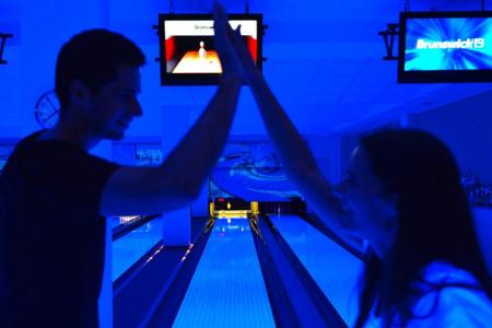 firemný bowling tím