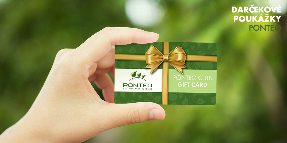 Darčeková poukážka Ponteo